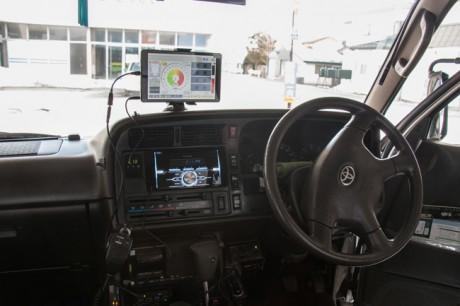 三次元重心検知システム 運転席